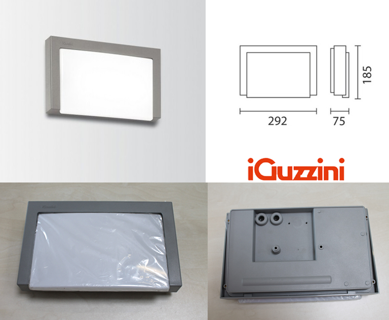 IGuzzini Motus applique emergenza 11W ceiling emergency lamp IP66 outdoor 5423