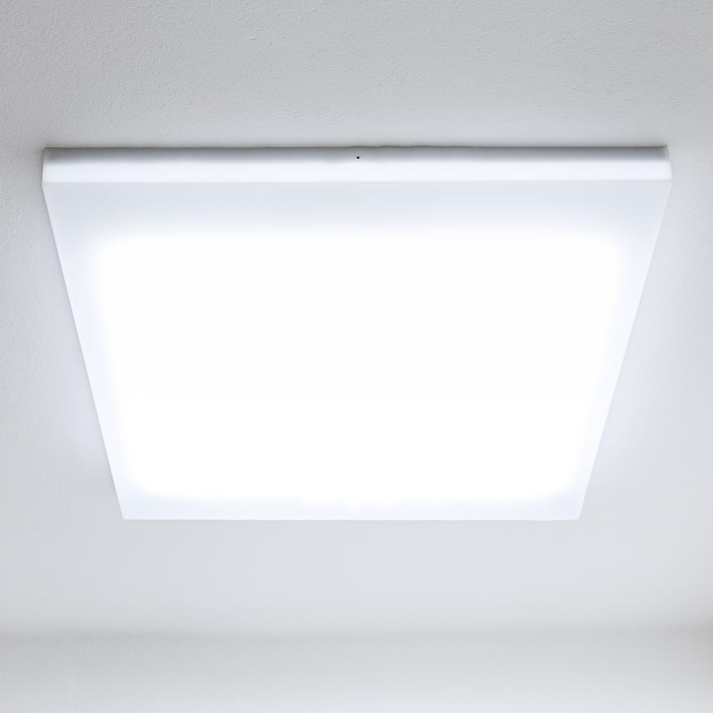 Hatch ceiling light gives the illusion of a roof window