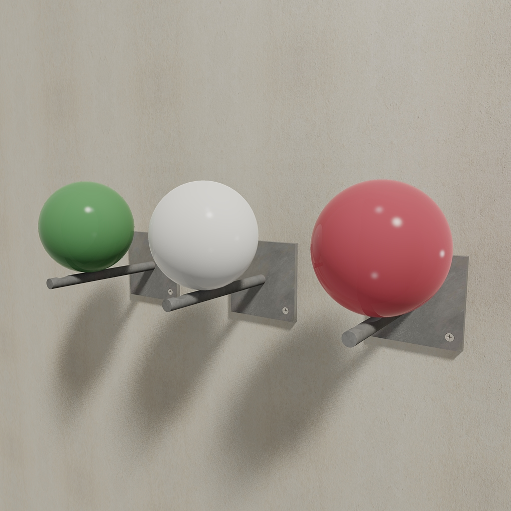 set Italia coat hanger Balance design Luca Perlini
